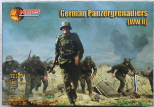 Mars 1/72 MAR72108 German Panzer Grenadiers (WW2)